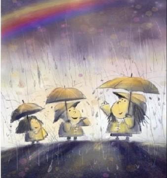 Thời gian trôi theo những cơn mưa