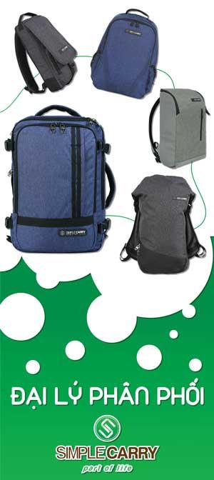 Balo túi xách Simple Carry